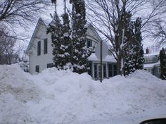 Albert City, IA : Lots of snow!
