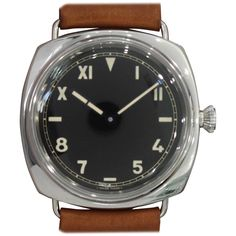 Panerai Stainless Steel Special Edition 2006 PAM 249 Radiomir 1936 Wristwatch | From a unique collection of vintage wrist watches at https://www.1stdibs.com/jewelry/watches/wrist-watches/
