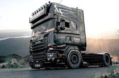 The badass Scania Streamline, Paul Walker Tribute, rendered in KeyShot by E. Sirbu.