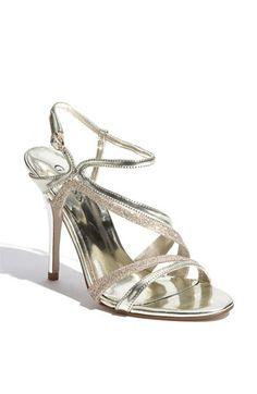 Calvin KleinCamelle Swarovski Crystal Stiletto Sandals 38e2A0uvr