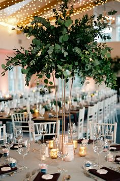 Amaze centerpieces greenery inspire paperie wedding 36 greenery wedding centerpieces to inspire 32 greenery wedding decor ideas budget and eco friendly wedding Floral Wedding, Wedding Bouquets, Wedding Flowers, Wedding Greenery, Flower Bouquets, Purple Wedding, Purple Bouquets, Bridesmaid Bouquets, Peonies Bouquet