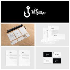 Branding design for The Butchers - Film Producer Company (Lizbon 2017) more on https://www.behance.net/gallery/49961939/The-Butchers-Film-Producer-Company #branding #butcher #identity #businesscard #design #logo #thebutchers #thebutchersdigital