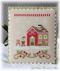 Elves Workshop (available from Country Cottage Needleworks).