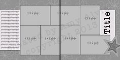 4 X 6 Photo Sketch Blog: 12 X 12 - 100