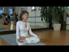 92 year-old Yoga Master, uploaded by JNJhealth, youtube: 'Yoga is the dance of life within us...'  #Yoga #Porchon_Lynch