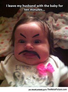 Lol. .told my daughter I'm going to do that to her kids when she has them.