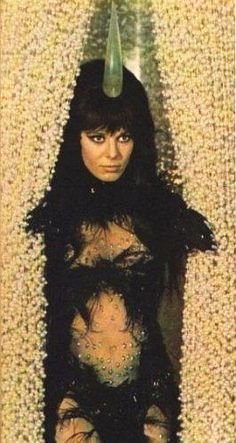 "newenglandwoodstock: "" Anita Pallenberg, dressed for movie role in ""Barbarella"" """