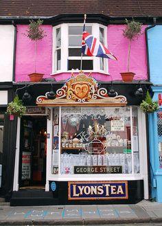 Tea Shop in Brighton, England