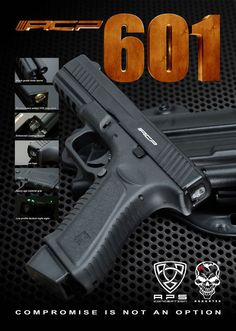 APS Conception has just come out with their new CO2 powered gas pistol dubbed the ACP601. This realistic feeling pistol combines many traditionally proven ideas with some revolutionary new ones. Find out more at www.operator7airsoft.com