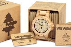 I love my eco 'we wood' watch
