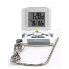 • This Cooking Timer is Rated #1 by Cook's Illustrated • It is extremely easy to use and to set to the desired time / alarm • This Cooking Timer has a clear and easy to read digital display, alarm clock, temperature measure and countdown timer • Put the probe into your Thanksgiving turkey or your Christmas ham and close oven door behind it. Set the temperature and the alarm will ring when it is done.