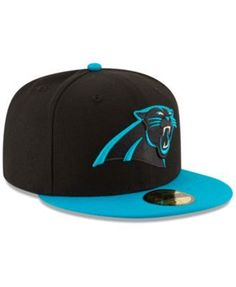 6f4d32eb5 New Era Carolina Panthers Team Basic 59FIFTY Fitted Cap - Black 6 7 8