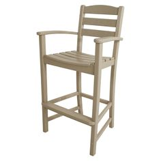 Polywood� La Casa Bar Height Patio Dining Arm Chair Collection