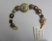 19th century victorian button bracelet