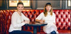 At Anna Weinberg and Jennifer Puccio's The Cavalier, the mood is opulent and grown-up--with a heavy British accent. The two channel British cool  with Welsh rarebit soufflé and deviled crab and a member's