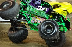 Monster Jam roars into INTRUST Bank Arena January 12-13, 2013. Don't miss Grave Digger right here in Wichita. Tickets are on sale now - visit intrustbankarena.com for details.