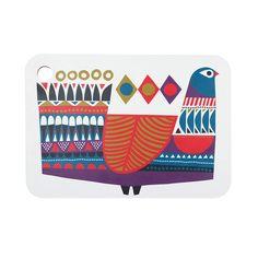 Marimekko's Kukkuluuruu print is a carnivale in retro 70's technicolour.   #marimekko #carinvale #yeah70s  http://sorrythanksiloveyou.com/products/view/marimekko-chopping-boards