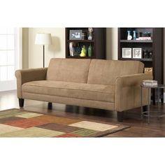 10 Spring Street Ashton Microfiber Sofa Bed - Walmart.com