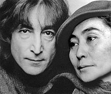 John Lennon und Yoko Ono 1980, porträtiert von Jack Mitchell