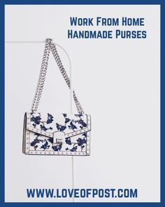 In Today's post you will learn how to make and sell handmade Purses. You do not need a sewing machine. Unique Purses, Handmade Purses, Sewing Courses, Velcro Dots, Fabric Glue, Sewing Class, Learn To Sew, Duct Tape, Latest Pics