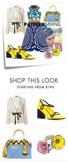 """Katranzou"" by beatrice-ballarini on Polyvore featuring moda, Post-It, Roberto Collina, Fabrizio Viti e Prada"
