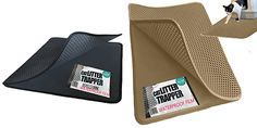 The Cat Litter Trapper looks like it has some great features! This mat has two layers, similar to other litter mats I've seen, with a perforated top layer and a solid bottom layer. Litter falls through the holes and is trapped between the layers. What makes the Cat Litter Trapper unique is a waterproof bottom...Read More