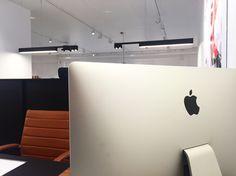 SPAZE | Spaze your office. DARK #lighting #spaze #architecturallighting #led #design #darlings #dark #officedesign #fixture #profile #vanhyfte
