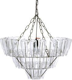 Leitmotiv - Bottle Hanglamp - Transparant