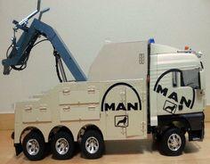 [ RC ] 1/14 TAMIYA MAN Hydraulic Tow truck 8*6 (Viscount) #Tamiya