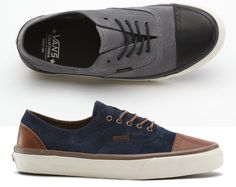 f61c19eb89 Vans California Era Brogue - Suede (Jesien 2012) Vans California