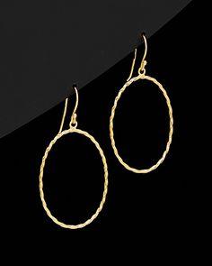 Argento Vivo 18K over Silver Drop Earrings | Rue La La