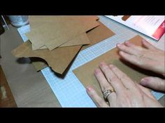 Making a Mini with Heartfelt Creations Flip Fold Album - YouTube