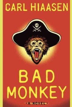 Check out Bad Monkey by Carl Hiaasen, an offbeat beach read.    http://inbedwithbooks.blogspot.com/2013/06/review-bad-monkey.html