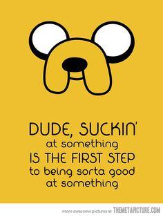 Adventure Time's wisdom