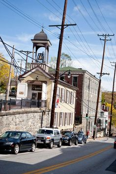 Ellicott City, Maryland - said to be the most haunted town in America