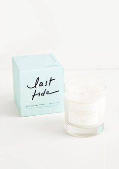 Made from pure coconut wax, our Sensory Series candle is a delight to the senses. Emanating complex, perfume-inspired fragrances, each scent features its own haiku printed in golden text and is packaged in a coordinating colored gift box.Lost letters: tea leaves / amber resin / bergamot / patchouli Wild air: italian basil / cassis / balsam / cinnamonLast tide: cedar wood / thyme / eucalyptus / sea salt Pale fire: wood smoke / saffron / sandalwood Burn time 50 hours Size 11 oz glass jar Material Candle Packaging, Candle Labels, Packaging Ideas, Amber Resin, Candles For Sale, Home Scents, Candle Shop, Product Label, Packaging Design Inspiration
