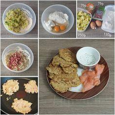 """Gefällt 0 Mal, 1 Kommentare - visual recipe step by step (@cookingwithm.e) auf Instagram: """"#Kohl- #Pancakes mit #SourCream und #Lachs. --------------- #Wirsing #Wirsingkohl #Schinken…"""""""