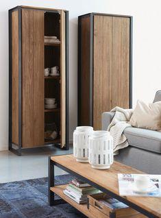 Leuke 2 deurs opbergkast van d-Bohdi met veel opbergruimte, perfect om al je spullen in op te bergen zoals servies of kleren. #kast #interieur #2deurs