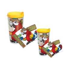 Tervis® It's 5 O'clock Somewhere Parrot Wrap Tumblers with Yellow Lid ($15-19)
