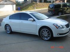 8 best maxima images on pinterest autos cars and nissan maxima 06 white nissan maxima with rims 06 maxima http fandeluxe Gallery