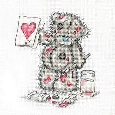 tattered teddy pattern and color chart