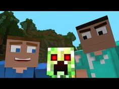 """Creepers are Terrible"" – A Minecraft Parody of One Direction's What Makes You Beautiful http://minecraft.topdog812.com"