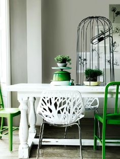 Love the look :) tree cutout chair.  photo by Damian Russell. No product info available.