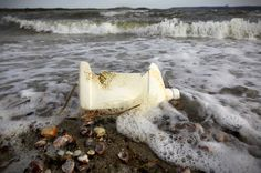 If successful, the extremely long barrier would eliminate the need for an army of boats to haul our trash ashore