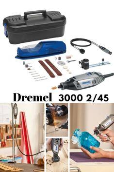 Πολυεργαλείο DREMEL 3000 (3000-2/45) με 2 προσαρτήματα και 45 αυθεντικά εξαρτήματα Dremel. Dremel 3000, Vacuums, Home Appliances, Silver, House Appliances, Vacuum Cleaners, Money, Appliances