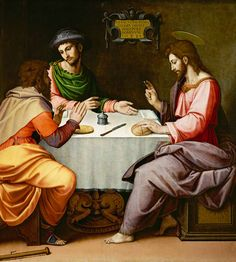 Image: Ridolfo Ghirlandaio - The Supper at Emmaus