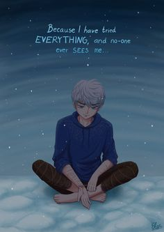 Jack Frost self-harms (tw:selfharm) by hyacinthess.deviantart.com on @DeviantArt ...sorry. My moods...