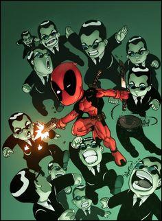Deadpool / Matrix