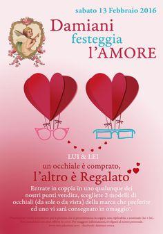 Promozione San Valentino 2016 - Damiani Ottica
