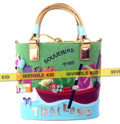 """Сумка с принтом """"Thailand"""" (AS08)  #сумка #мода #bag #купить"""